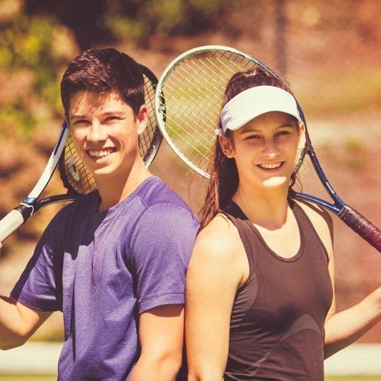 Teenager-Tennis
