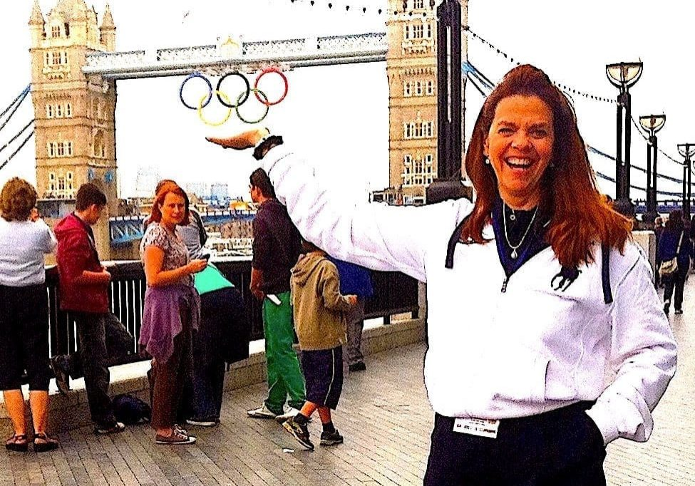 Dr. Joy serving as <br>Communications Director <br>2012 London Olympics