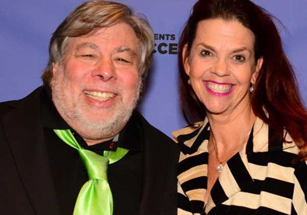 Joy & Steve Wozniak <br>Co-Founder Apple